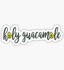 Avocado Holy Guacamole Sticker