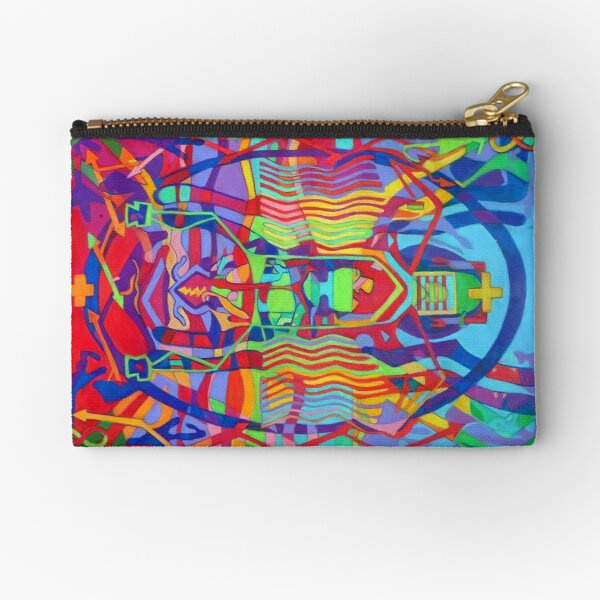 Eight Bones of the Spider Woman Zipper Pouch