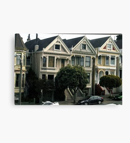 And Painted Ladies All In A Row.. Canvas Print