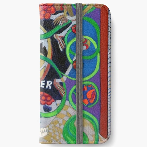 Exit Stage Left iPhone Wallet