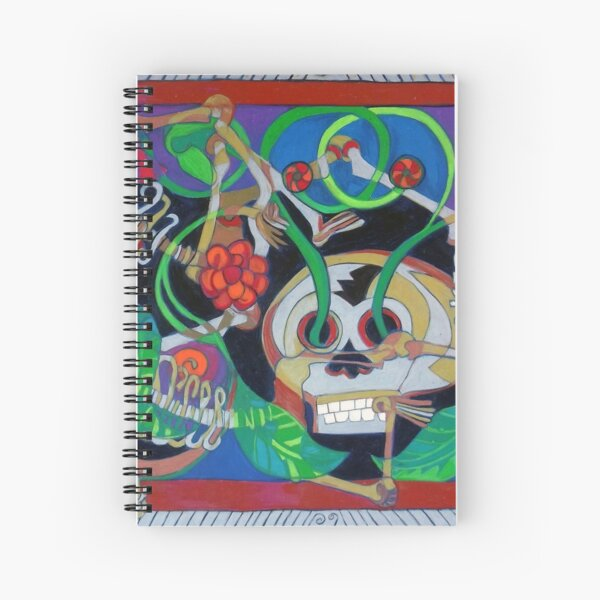 Exit Stage Left Spiral Notebook
