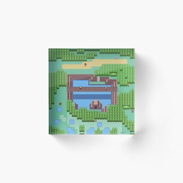 Dreams of Route 120 Acrylic Block
