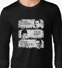 The Good, The Bad and The Butler Long Sleeve T-Shirt