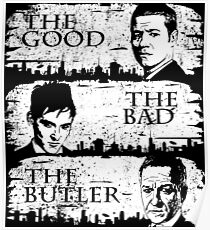 The Good, The Bad and The Butler Poster