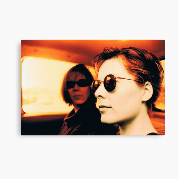Orla & Denise in Terry's Car 1997 Canvas Print