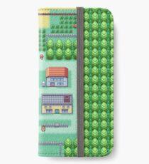 Träume von Pallet Town iPhone Flip-Case/Hülle/Klebefolie