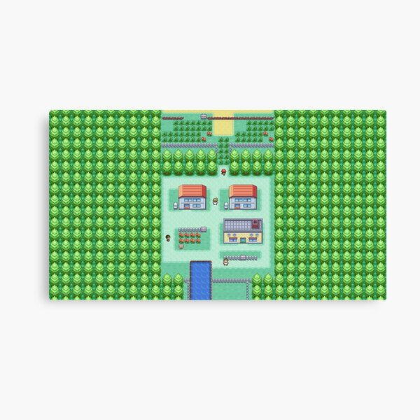 Dreams of Pallet Town Canvas Print