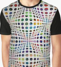 Homage (To Victor Vasarely) Graphic T-Shirt