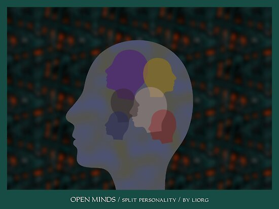 Open Minds / Spilt Personality by Lior Goldenberg