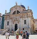Church of St Blaise, Dubrovnik by Graeme  Hyde