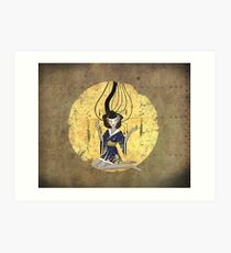 Goddess of Robotic Geishas Art Print