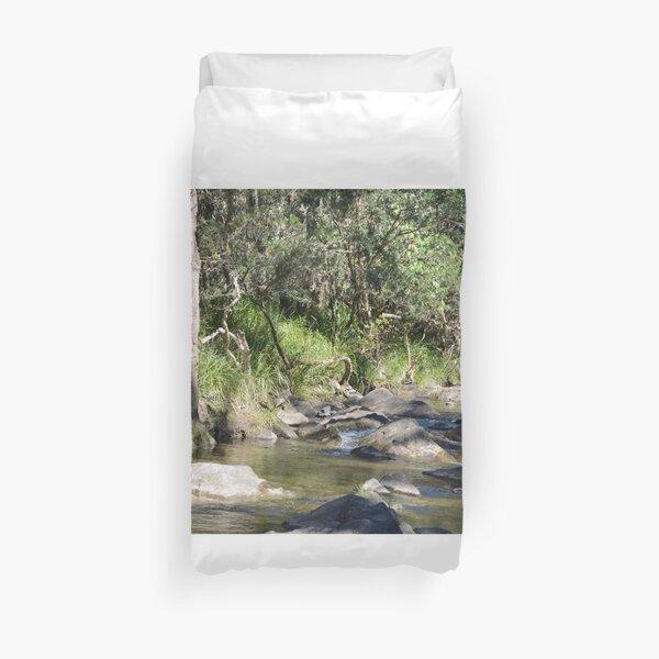 Creek in South East Queensland Duvet Cover