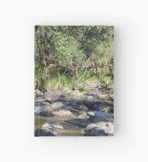 Creek in South East Queensland Hardcover Journal