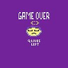 Game Over Got Pixelated by patjila