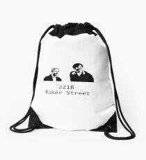 221B Baker Street Drawstring Bag
