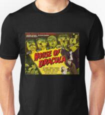 House of Dracula - vintage horror movie poster Unisex T-Shirt