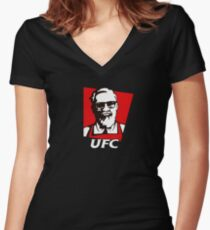 Conor Mcgregor - Parody Women's Fitted V-Neck T-Shirt