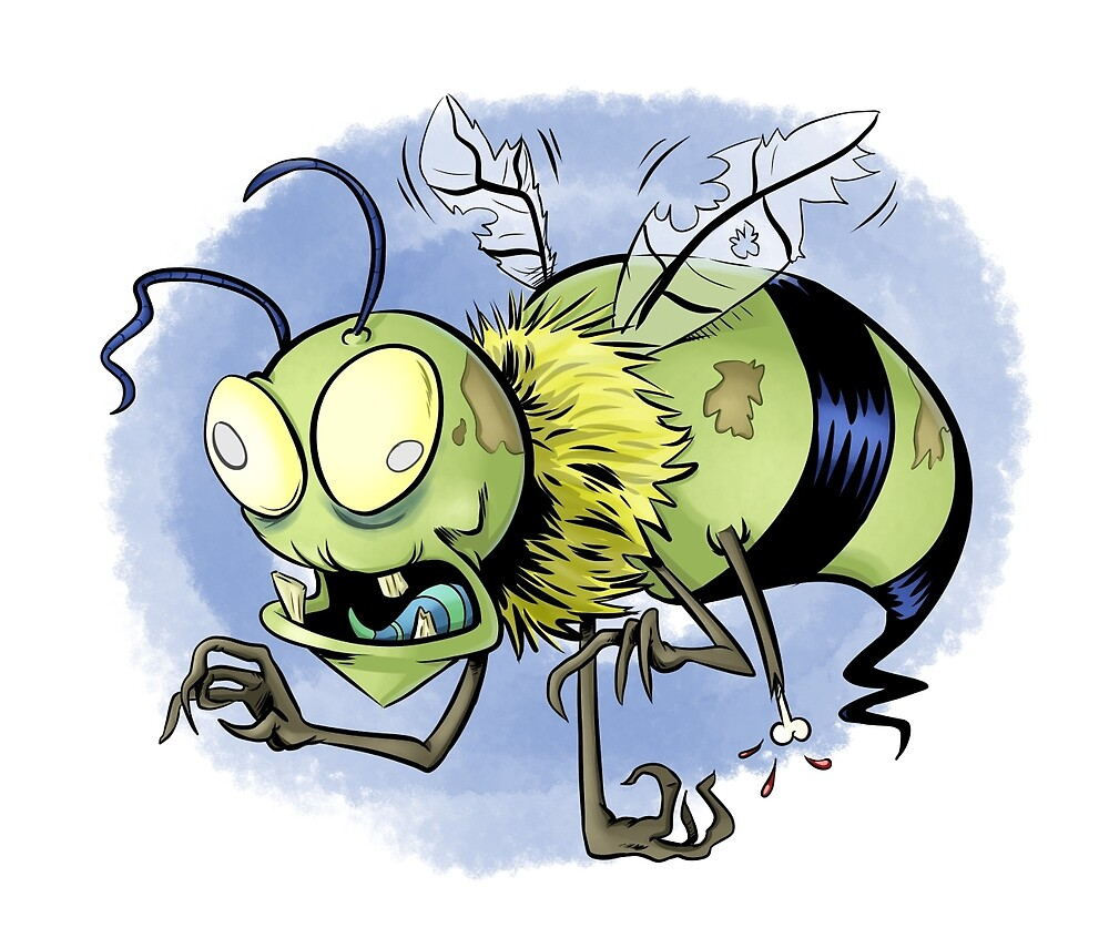 Zombee (Zombie Bee) by Jeff Morin