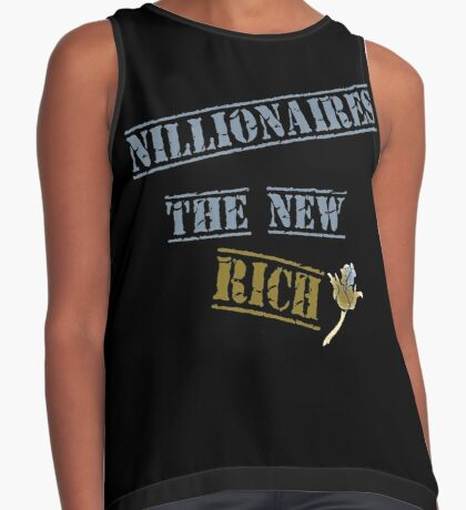 Nillionaires Are The New Rich Contrast Tank