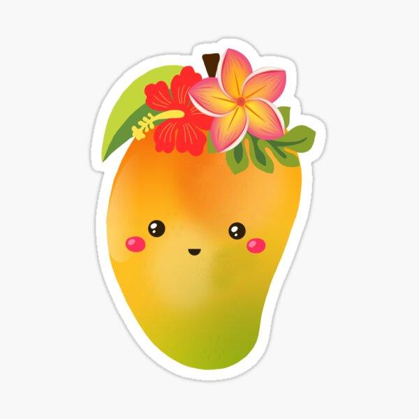 mango girl Sticker