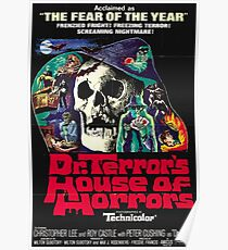 Doctor Terror´s House of Horrors - vintage horror movie poster Poster