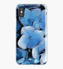 Blue Floral iPhone Cover iPhone Case/Skin