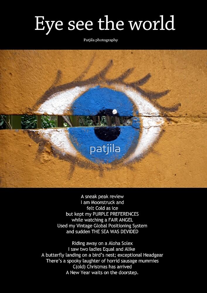 Eye See The World calendar cover by patjila