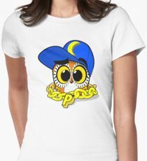 Payaso Urban Owl Womens Fitted T-Shirt