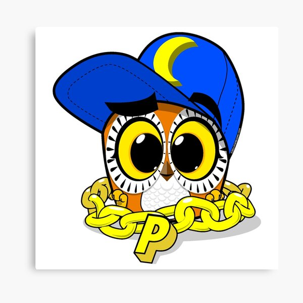 Payaso Urban Owl Canvas Print