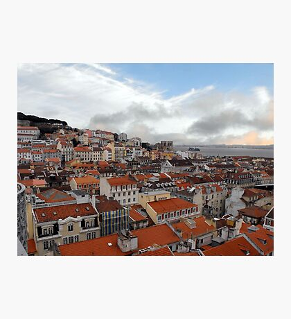 Overlooking Lisbon Photographic Print