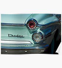 1962 Dodge Dart Rücklicht -0277c Poster