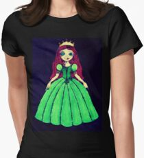 Creepy Princess Womens Fitted T-Shirt