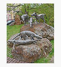 Thylacine Sculpture Photographic Print