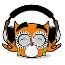 Payaso Headphones Owl by PharaohLord