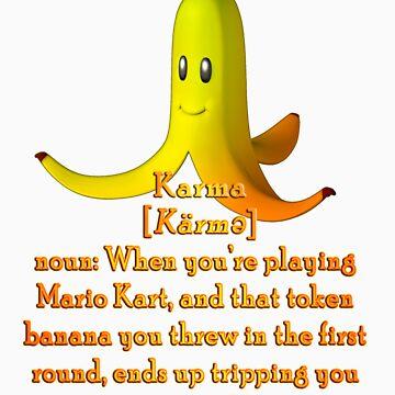 Mario Kart Banana - Karma Joke by TetrAggressive