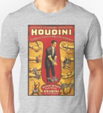 Houdini, vintage theater poster - color Unisex T-Shirt