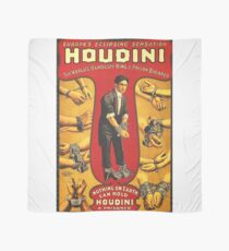 Houdini, Vintages Theaterplakat - Farbe Tuch