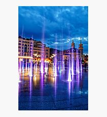 Fountains of the Post Square Photographic Print
