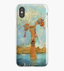 tree of love owls iPhone Case/Skin