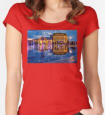Fountains of the Post Square Women's Fitted Scoop T-Shirt