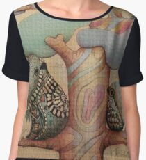 I love you Women's Chiffon Top