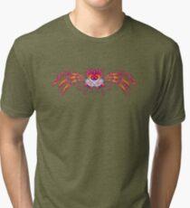 Fractal Bird Tri-blend T-Shirt