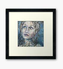 Self-Portrait Framed Print