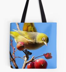 Berry, Berry Delicious - Silver-Eye - Gore Southland Tote Bag