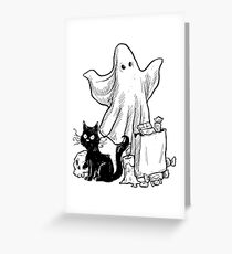 Trick Or Treat Party Greeting Card