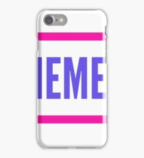 plain clothing (memes) iPhone Case/Skin