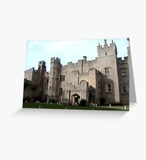 Witton Castle from the front Greeting Card