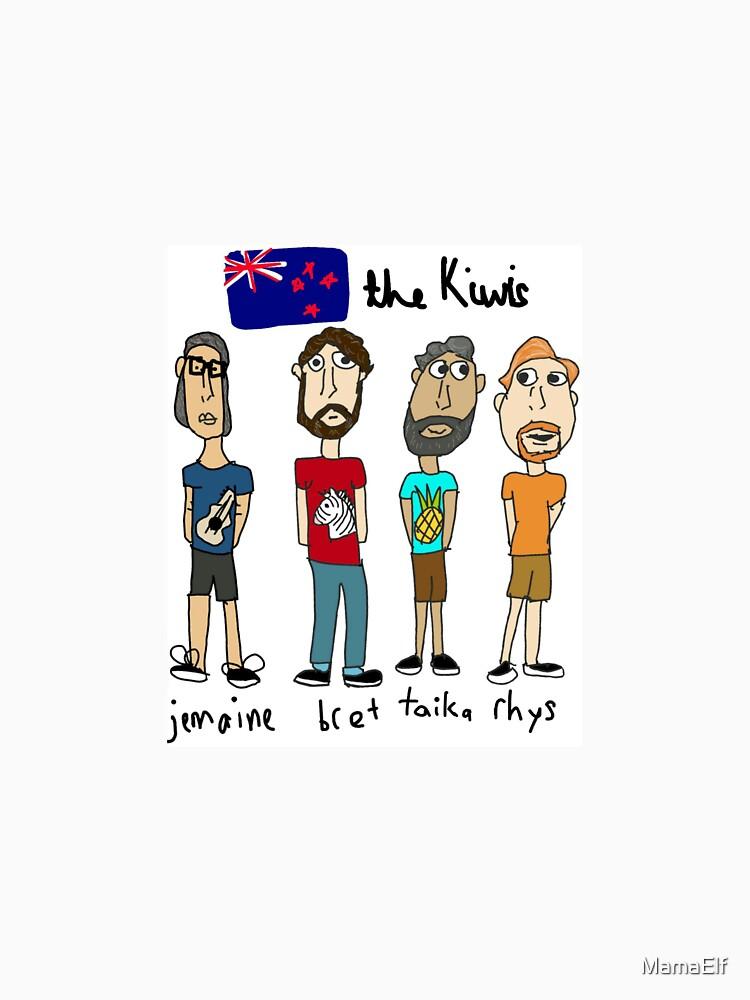 Los Kiwis de MamaElf