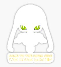 Come to the Dark Side Sticker