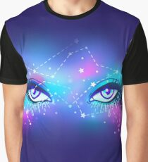 Galaxy in your eyes Graphic T-Shirt
